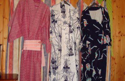 mes kimonos...