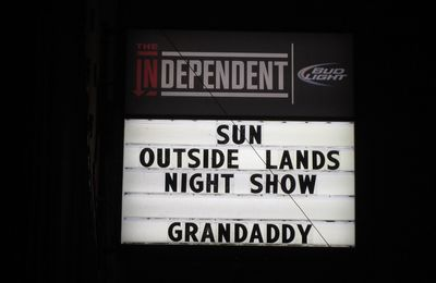 Playlist #11 : Grandaddy @ The Independent