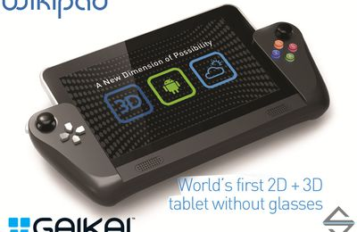Wikipad, une tablette «cloud gaming» HD, 3D relief et manette