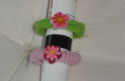 chouchou fleurs