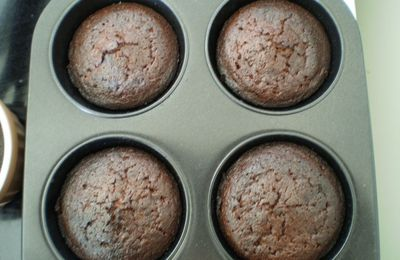 Muffins aux marrons ( brownies )