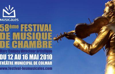 """Les septièmes """"Musicales"""" de Colmar"""
