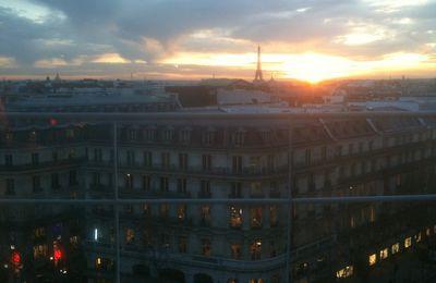 Vue panoramique depuis la terrasse des Galeries Lafayette