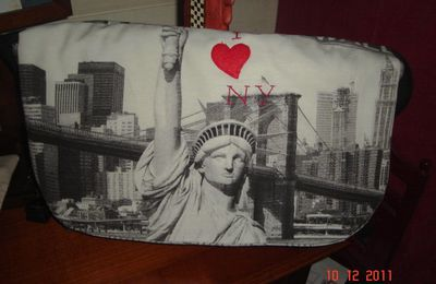 "2 sacs ""New York"""