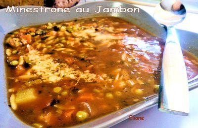 Minestrone au Jambon