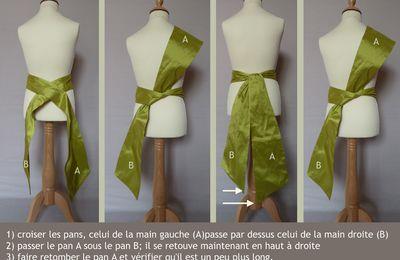 comment faire un joli noeud