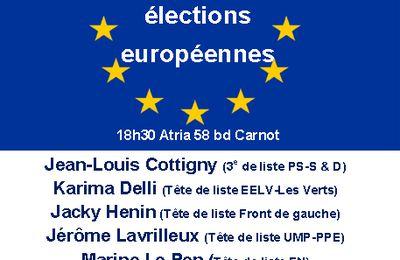 Spéciales européennes 2014 - Pas de Calais