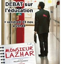 "Projection du film ""Monsieur LAZHAR"" au Grenier à Sel à Trappes, suivie d'un débat à l'initiative de la FCPE"