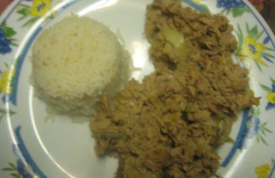 sauté de thon au riz de Laura