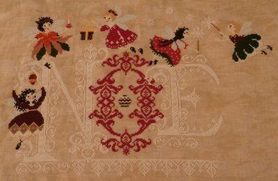 SAL Les Fées de Noël : AMAP - 14 étape