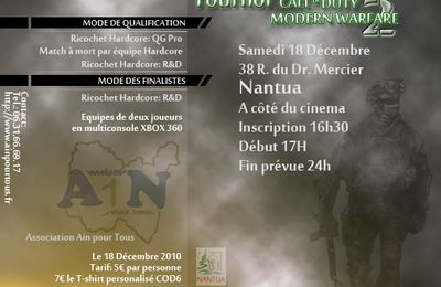 Tournoi Call of Duty 6