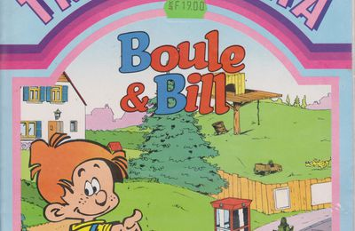 Décalcomanie Boule et Bill