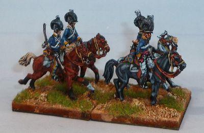 Lasalle : premiers éléments de cavalerie légère anglaise (2)