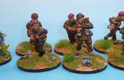 Para anglais 28mm (Warlord) : la suite...