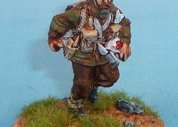 Para anglais 28mm (Warlord) : soutien divisionnaire