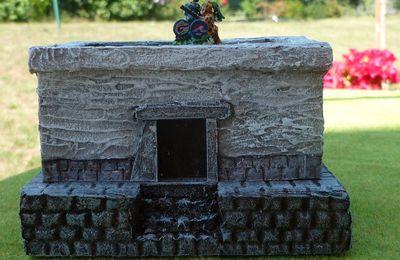 Maison aztèque pour 15mm
