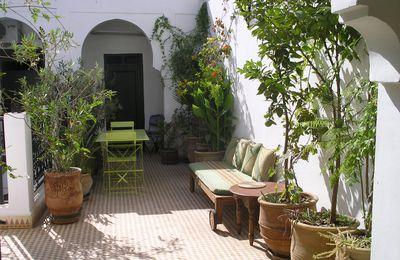 Quelques changements dans la maison de Marrakech