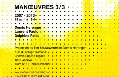 Manœuvres 3 / 3 - 19 avril 2013 - 19H