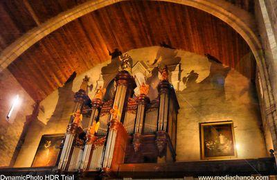 Orgue - Castelnaudary - HDR
