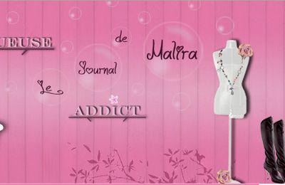 Bannière pour le blog de Malira