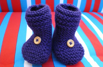 Chaussons montants