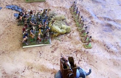 Carthaginois contre Celtes (Warhammer Ancient battle)