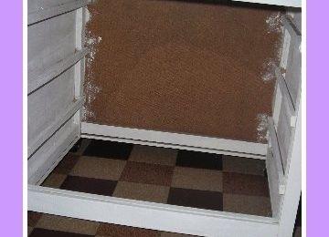 La 2nde vie d'un cube à tiroirs en bois