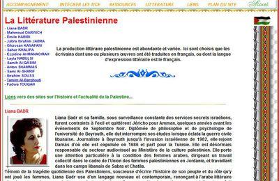 Littérature Palestinienne (extraits)