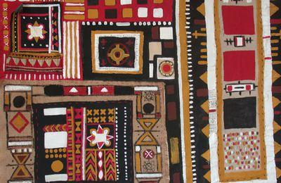 Galerie peintures: SIGNES BERBERES : le signe ;L'empreinte de l'art traditionnel berbère
