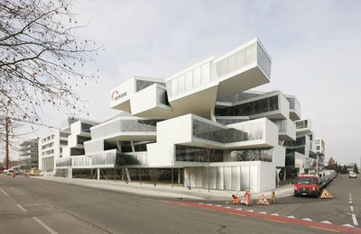 THE ACTELION BUSINESS CENTER by HERZOG & DE MEURON / ALLSCHWIL - SWITZERLAND