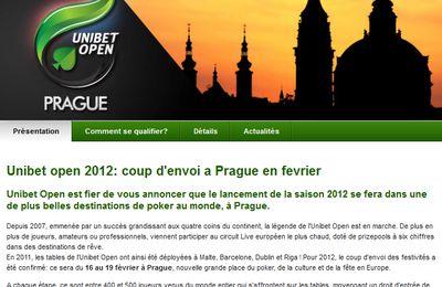 Unibet Open de Prague, je suis qualifié