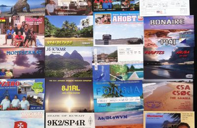 Bureau QSLs received...