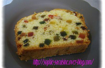 Cake aux fruits confits de jamie oliver