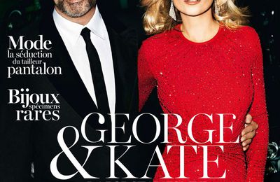GEORGE MICHAEL DANS LE MAGAZINE VOGUE