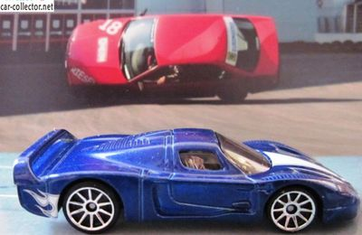 MASERATI MC12 HOT WHEELS 1/64