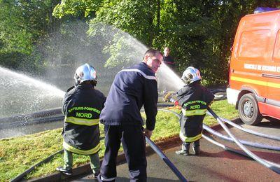 La belle expo du passé des pompiers à Estaires
