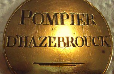 La mystérieuse médaille des Pompiers d'Hazebrouck