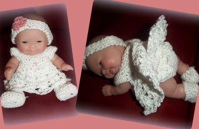 robe blanche pour itty bitty