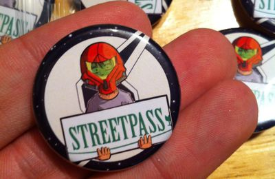 Vente de Badges StreetPass Nintendo 3DS