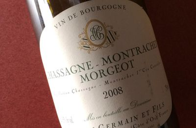 Chassagne Montrachet 1er cru Morgeot 2008 Henri Germain.