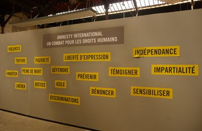 Rencontres d'Arles # 13 : Droits de regards, Amnesty International