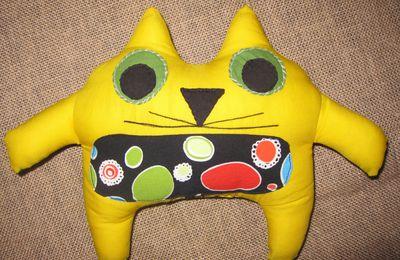 le chat musclé