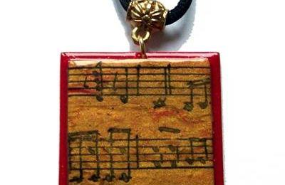 Pendentif musique...