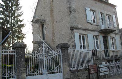 maison à vendre sur le Canal de Bourgogne