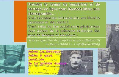 A partir d´une photographie / Faire émerger les souvenirs / partager notre histoire commune, fixer l´anecdote .