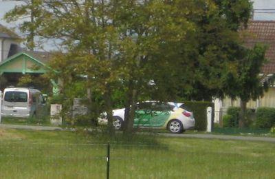 """La """"Google Car"""" passe à Muides"""