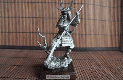 Ma Collection - Samourai avec Naginata - Blog du Templier
