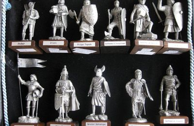 Vos Collections : coffret à figurines - C. Leemans - Le Templier