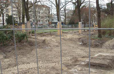 Sie machen unseren Stadtpark kaputt (Kahlschlagrodung in Berlin-Moabit)