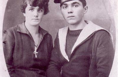 Matelot sur le croiseur Edgar Quinet